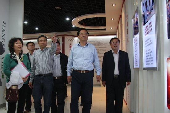 中国信息化推进联盟 冶金和信息化专业委员会刘翠珍秘书长一行莅临公司参观指导!