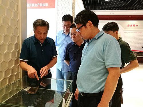 宝武集团宝钢不锈钢有限公司 副总经理何汝迎一行去我司观光