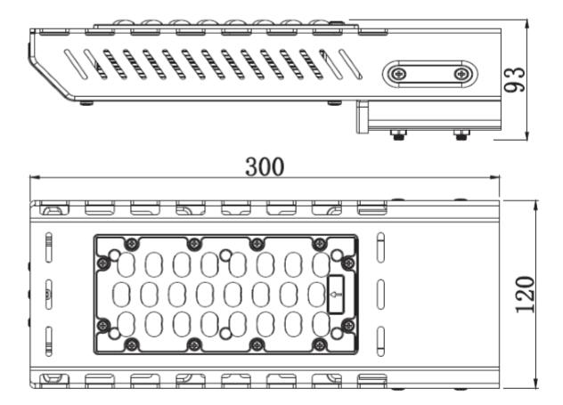 LED路灯结构图