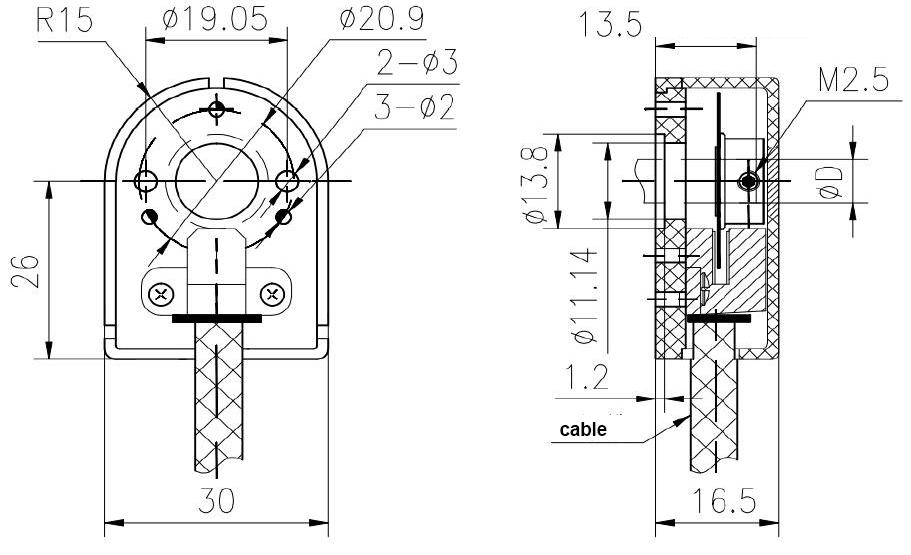 Servomotor Encoder