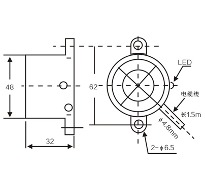 LM48 Inductive proximity switches sensors