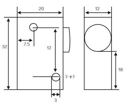 LMF21 Inductive proximity switches sensors