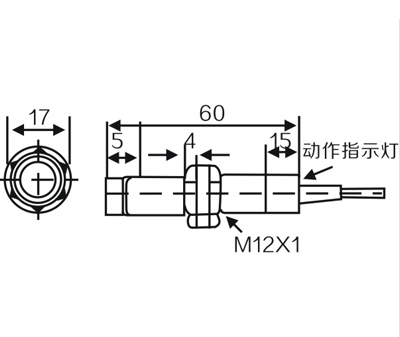 M12 Photoelectric Switch