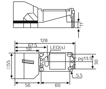 LMF370 Inductive proximity switches sensor
