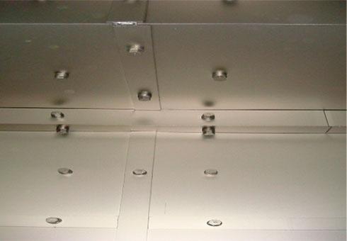 Blast cabinets wear shield